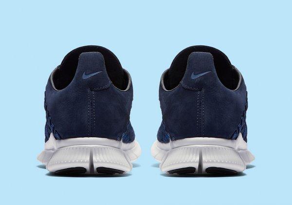 chaussure Nike Free Inneva Woven (Foutain Blue Midnight Navy Summit White) (4)