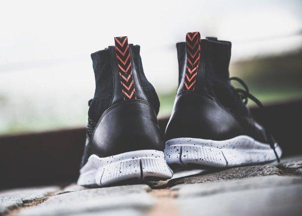 chaussure Nike Free Mercurial Superfly FC Black Grey Team Orange (3)