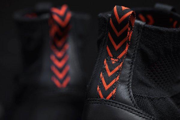 chaussure Nike Free Mercurial Superfly FC Black Grey Team Orange (4-1)