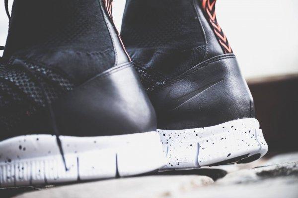 chaussure Nike Free Mercurial Superfly FC Black Grey Team Orange (4)