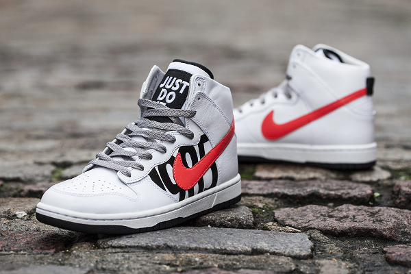 UNDFTD x Nike Dunk Hi Lux SP 'White Infrared'