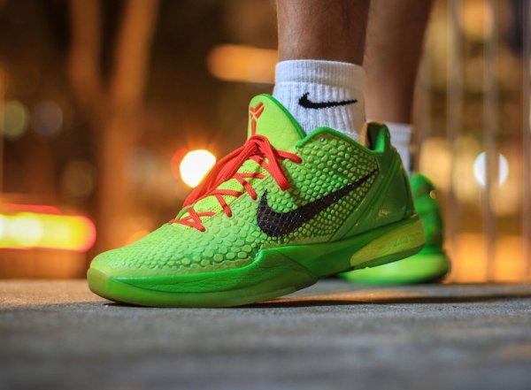 5-Nike Kobe 6 Grinch - Jht3