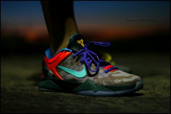 6-Nike Kobe 7 What The Kobe - Never Wear Them