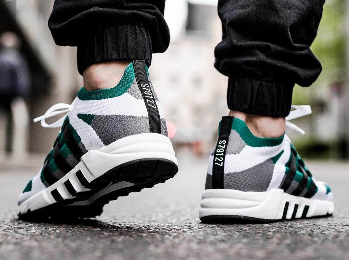 Adidas EQT Running Guidance 93 PK Primeknit Sub Green (2)