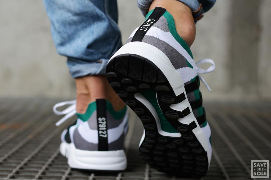 Basket Adidas EQT Running Guidance 93 Primeknit Sub Green (7)