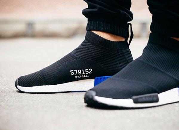 Adidas NMD_CS1 Primeknit 'Core Black'