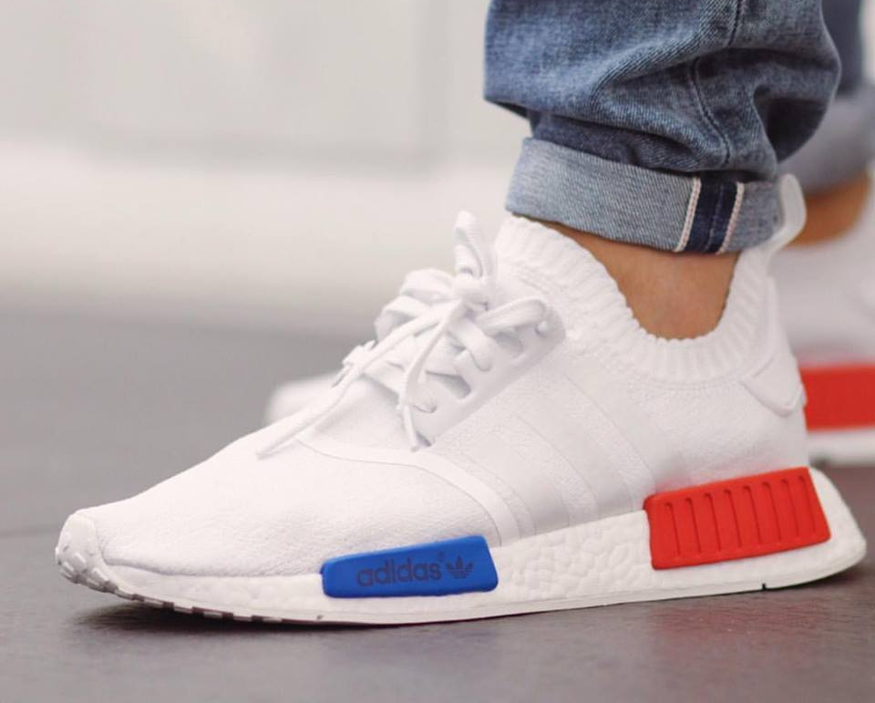 NMD R1 Adidas by9647 grey/raw pink