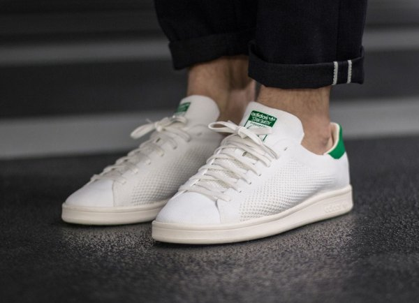 Basket Adidas Originals Stan Smith PK OG White Green (1)