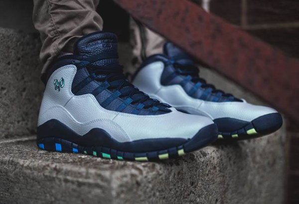 Basket Air Jordan 10 Retro City Rio Cool Grey (1)