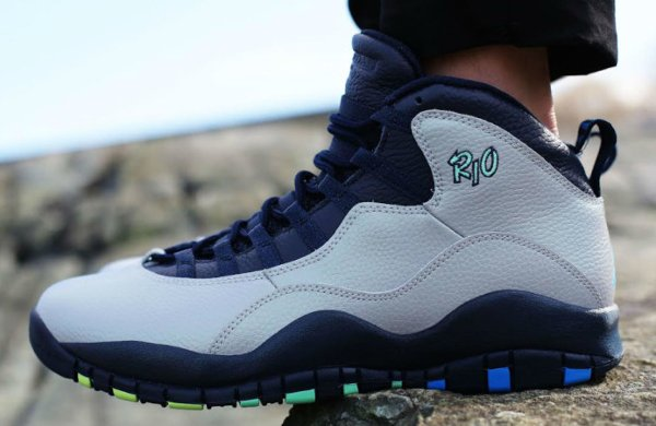 Basket Air Jordan 10 Retro City Rio Cool Grey (3)
