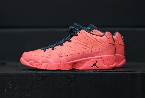 Basket Air Jordan 9 Retro Basse Bright Mango pas cher (2)