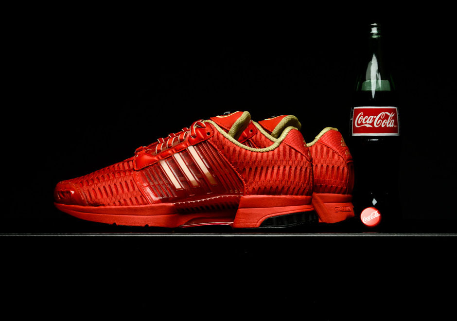 Basket Coca Cola x Adidas Climacool 1 Red Metallic Gold 2016 (1)