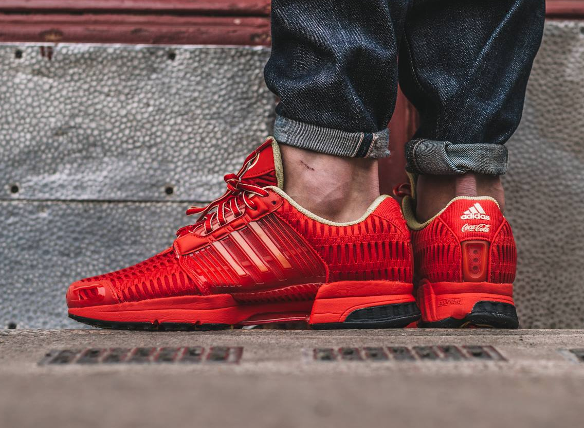 Basket Coca Cola x Adidas Climacool 1 Red Metallic Gold 2016 (3)