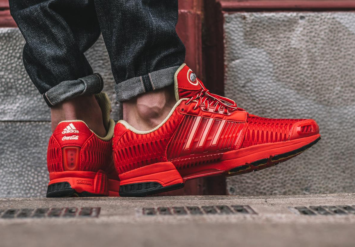 Basket Coca Cola x Adidas Climacool 1 Red Metallic Gold 2016 (5)