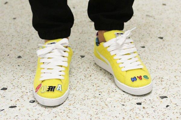 Basket Dee & Ricky x Puma Basket Velcro Vibrant Yellow