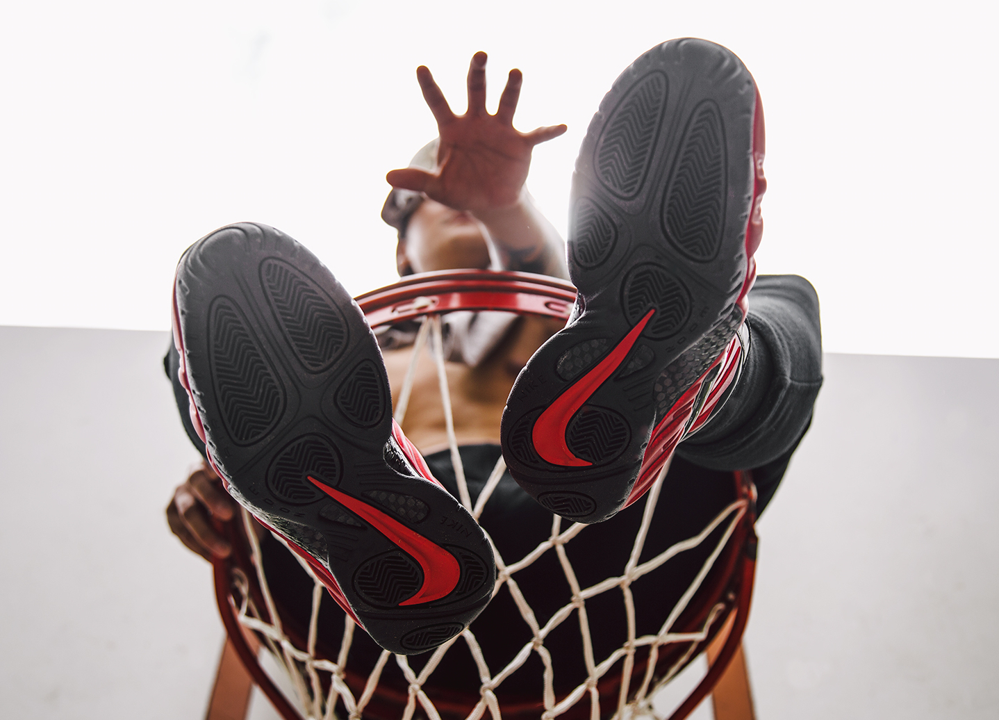 Basket Nike Air Foamposite Pro 'University Red' (3)