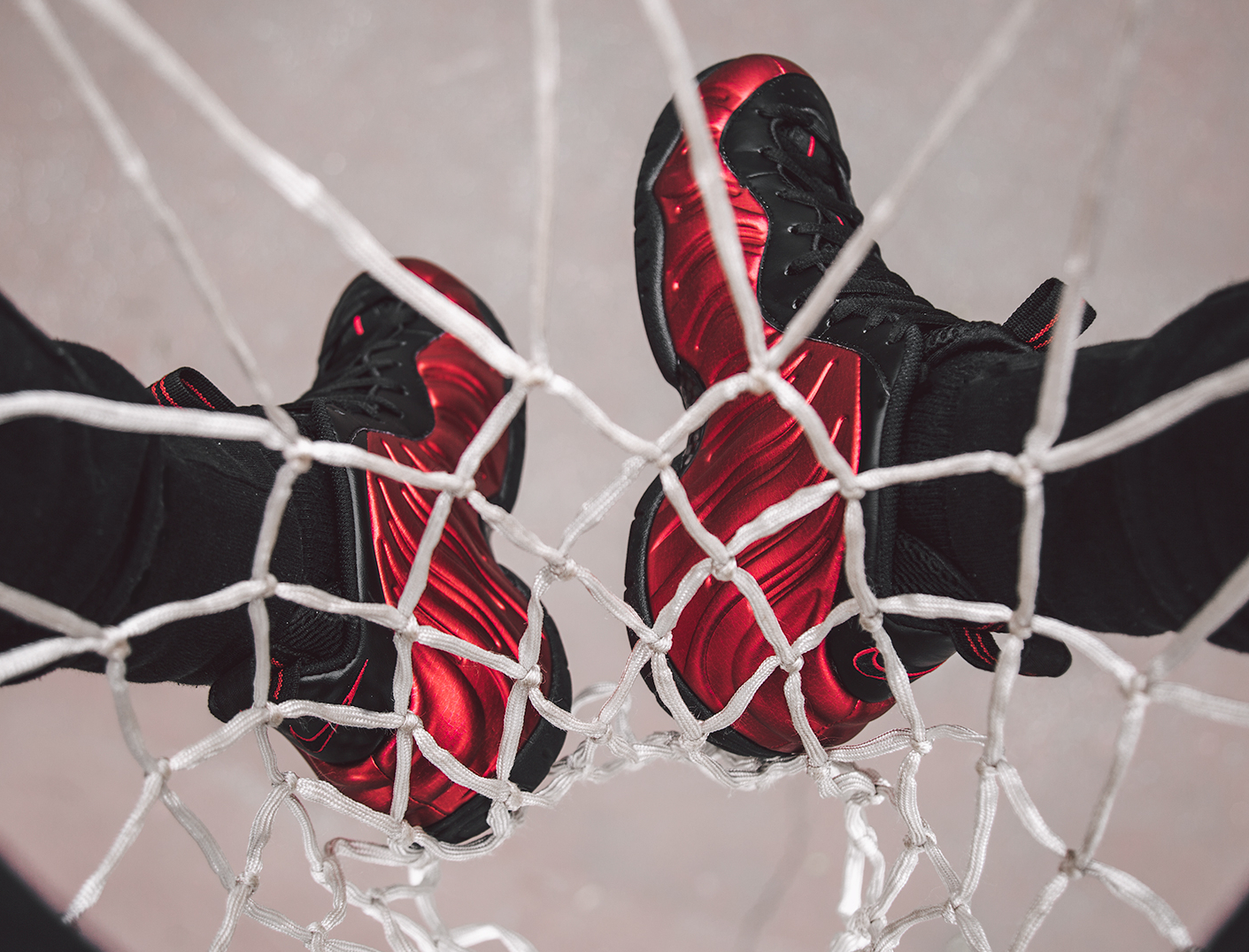 Basket Nike Air Foamposite Pro 'University Red' (4)