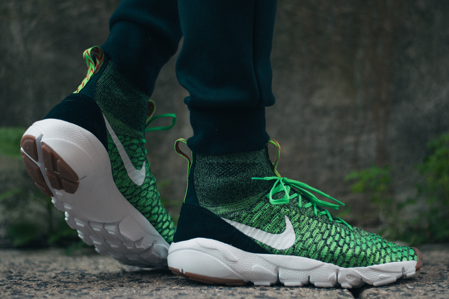 Basket Nike Air Footscape Magista Flyknit Poison Green (1)