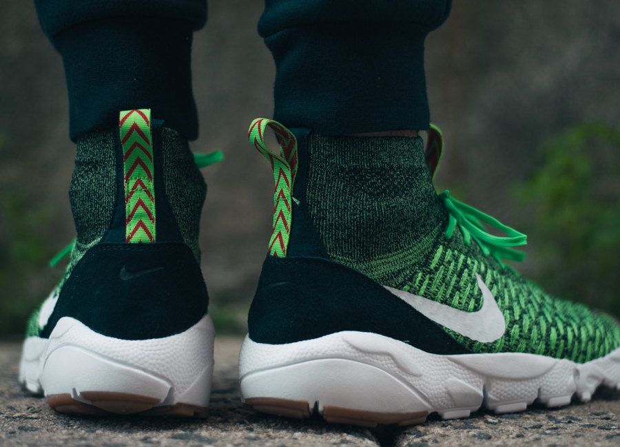 Basket Nike Air Footscape Magista Flyknit Poison Green (3)