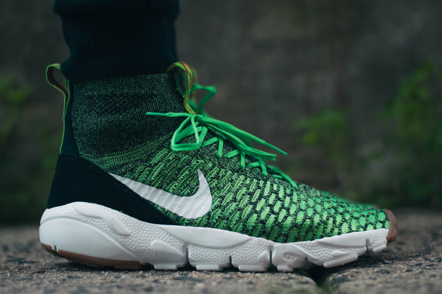 Basket Nike Air Footscape Magista Flyknit Poison Green (4)