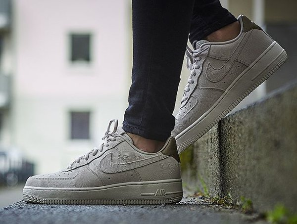 bas prix 49921 c8f7c Nike Air Force 1 07' Low Suede PRM 'Gamma Grey Phantom'