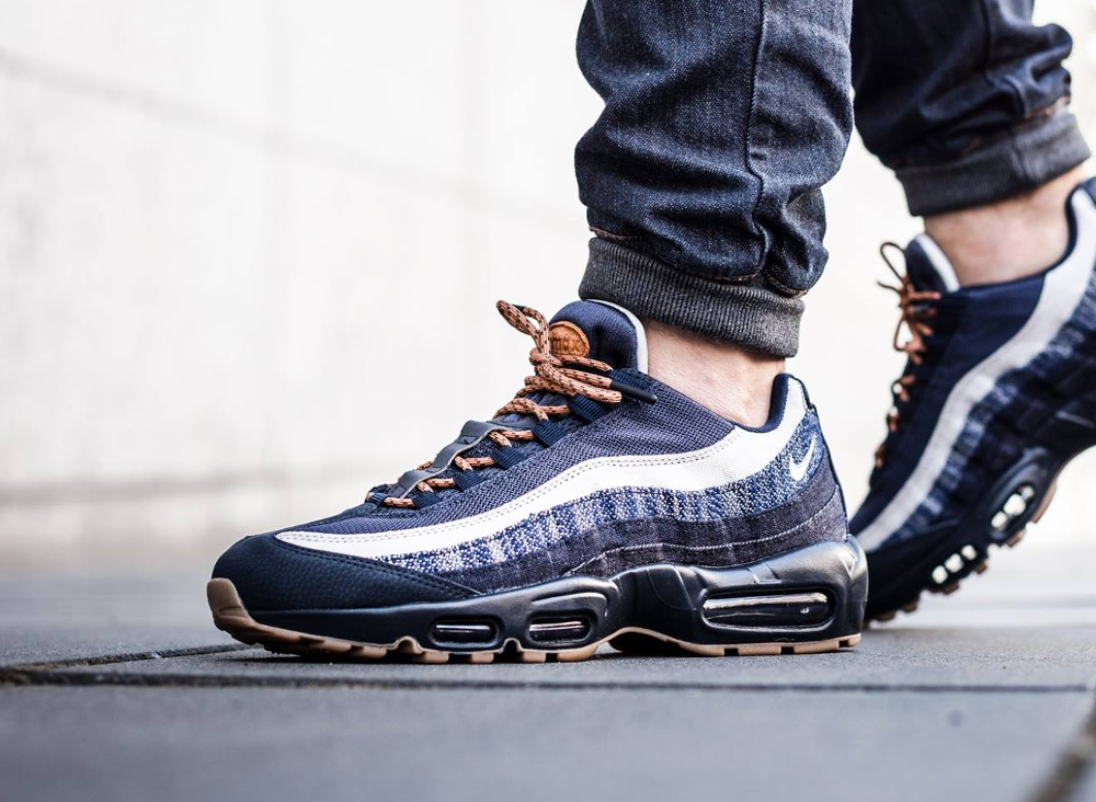 date de sortie: 31f02 b7d40 Nike Air Max 95 Prm Denim leoncamier.co.uk