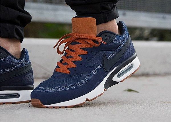 Basket Nike Air Max BW PRM 'Denim' Obsidian (fhomme) (1)