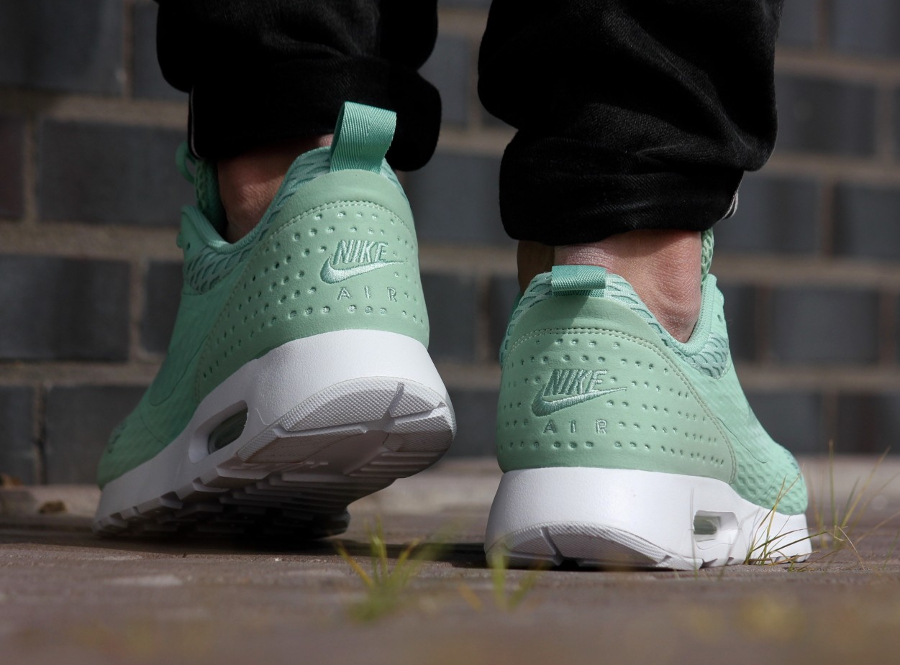 Basket Nike Air Max Tavas Special Edition Enamel Green (vert menthe) (2)