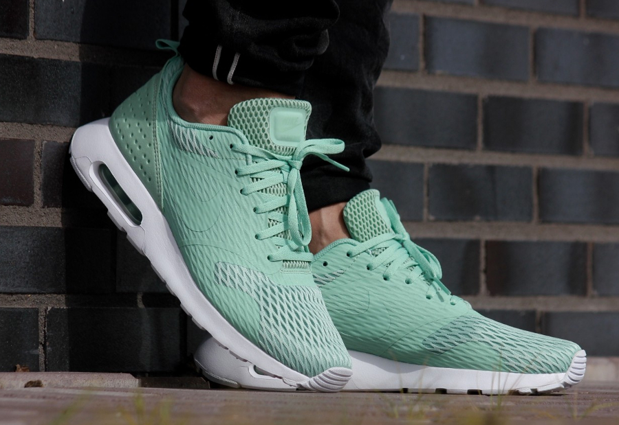 Basket Nike Air Max Tavas Special Edition Enamel Green (vert menthe) (3)