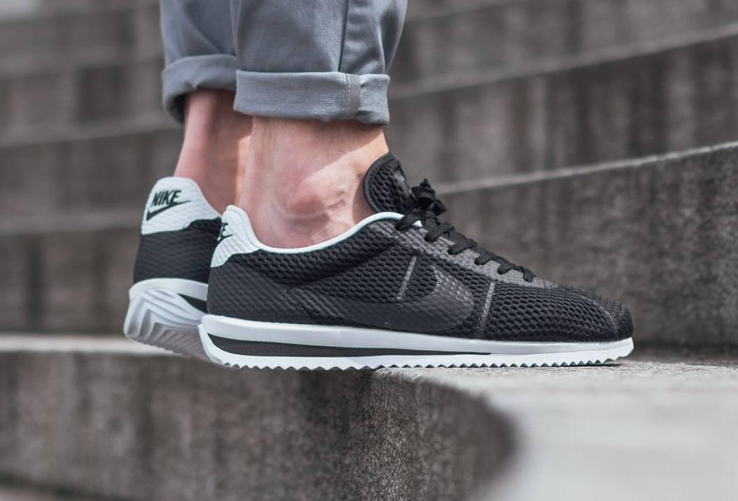 f820192a5dd2 Basket Nike Cortez Ultra BR Breathe Black (1)