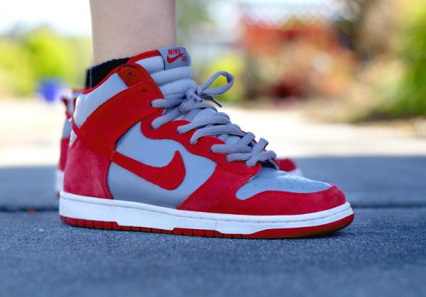 Basket Nike Dunk High Retro UNLV