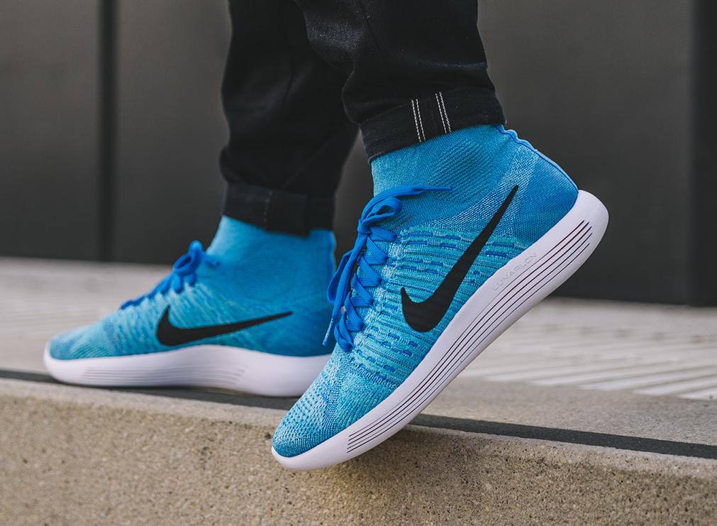 Basket Nike Lunarepic Flyknit Gamma Blue Glacier Ice (1)