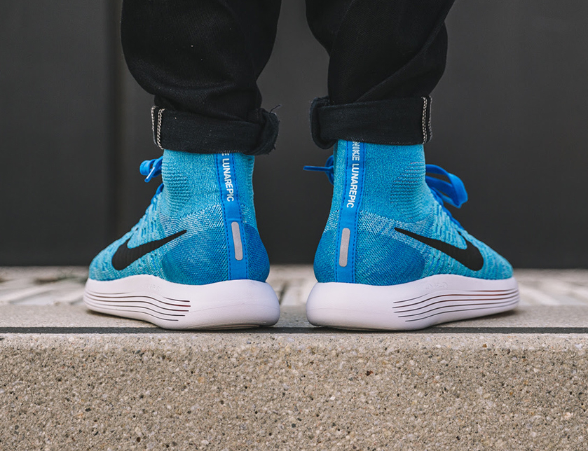 Basket Nike Lunarepic Flyknit Gamma Blue Glacier Ice (3)