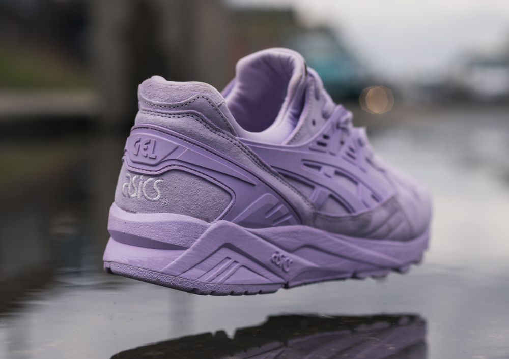 Basket Size x Asics Gel Kayano Trainer Suede Purple Lavender (2)