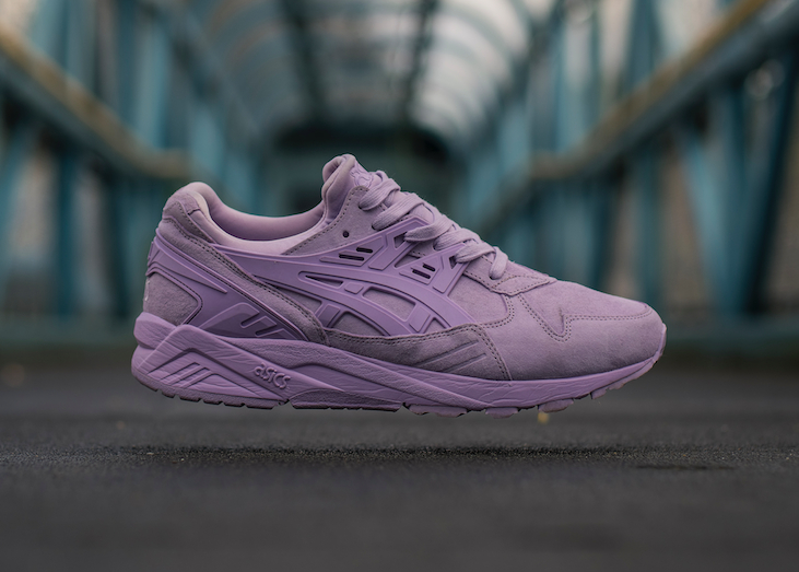 Basket Size x Asics Gel Kayano Trainer Suede Purple Lavender (4)