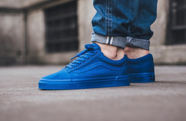 Basket Vans Old Skool 'Nautical Blue' (1)