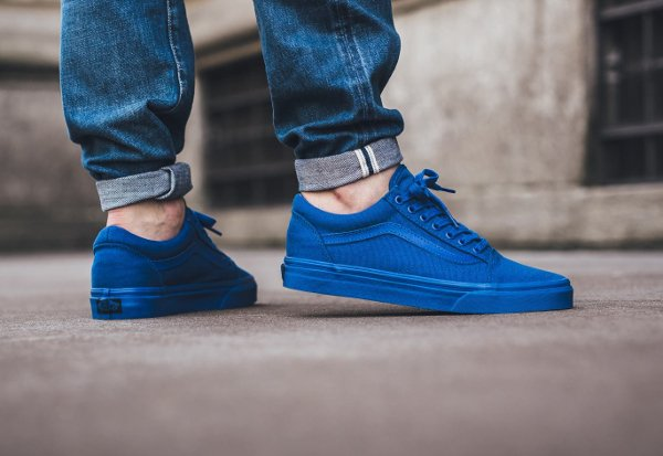 Basket Vans Old Skool 'Nautical Blue' (2)