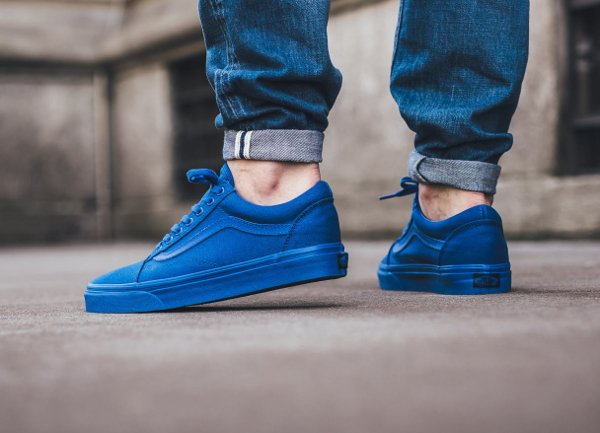 Basket Vans Old Skool 'Nautical Blue' (3)