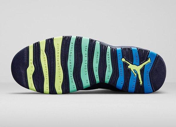 Chaussette Air Jordan 10 Retro Rio (3)