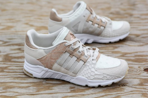 Chaussure Adidas EQT Support 93 Chalk White Clear Brown Off White (1)