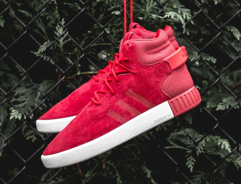Adidas Originals Rouge Tubulaire Invader 9q6xM