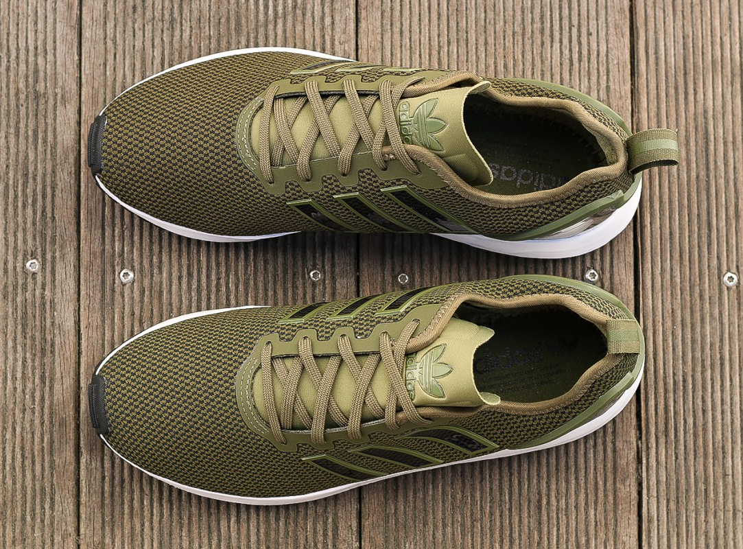 save off 83fba ee4ac Adidas ZX Flux ADV 'Olive Cargo'