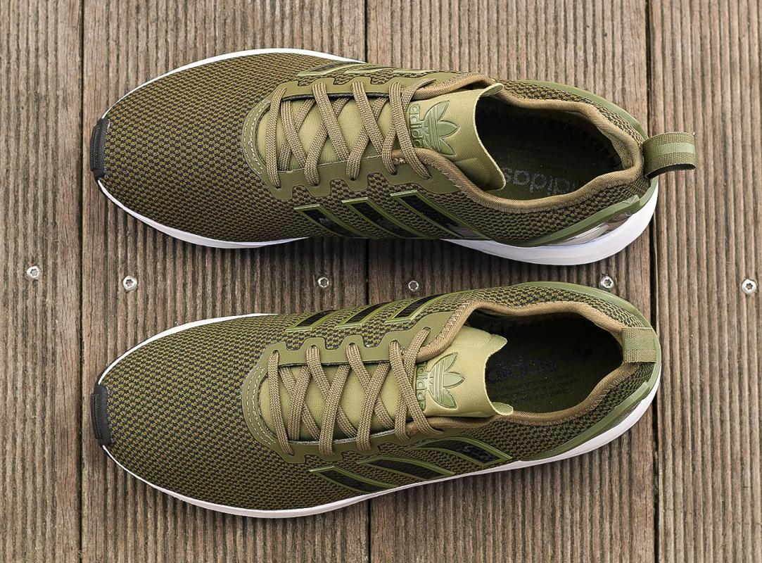 adidas zx flux vert militaire