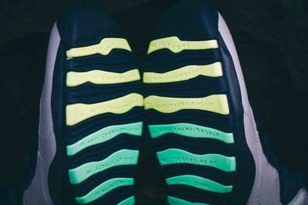 Chaussure Air Jordan 10 Retro Rio (3)
