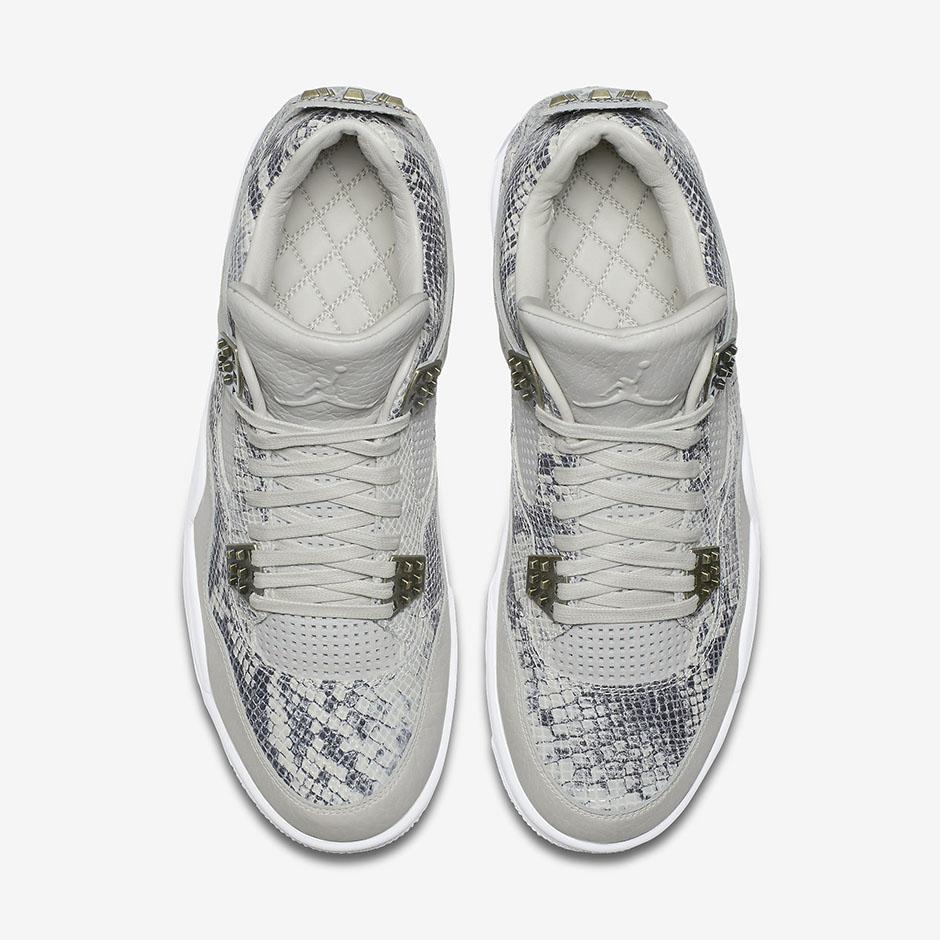 Chaussure Air Jordan 4 Retro Premium Snakeskin (4)