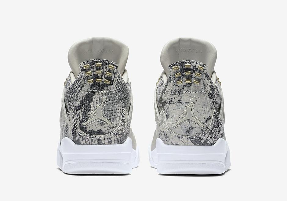 Chaussure Air Jordan 4 Retro Premium Snakeskin (5)