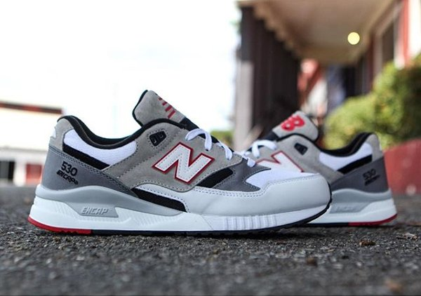 Chaussure New Balance M530LM Red Grey (1-1)