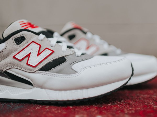 Chaussure New Balance M530LM Red Grey (2)