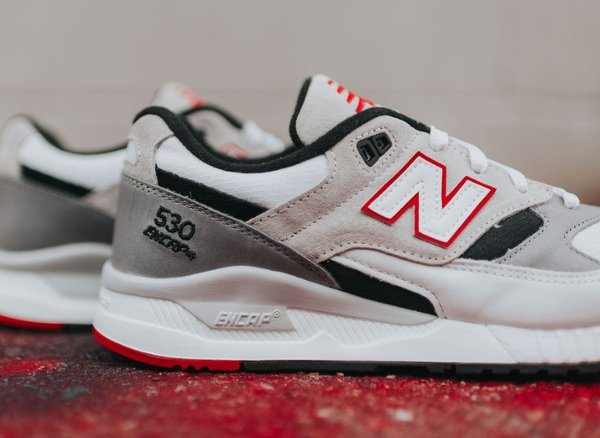 Chaussure New Balance M530LM Red Grey (3)