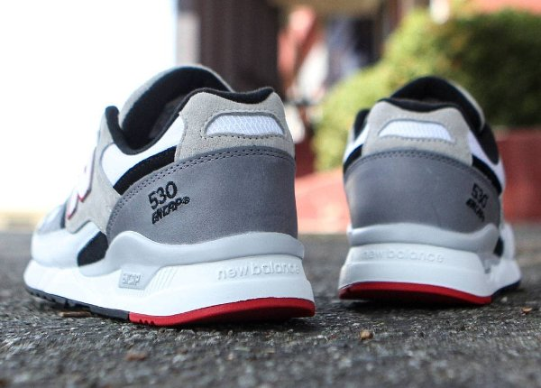 Chaussure New Balance M530LM Red Grey (4)